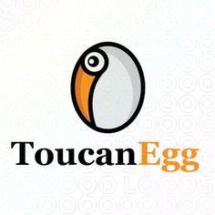 Exclusive Customizable Logo For Sale: Toucan Egg | StockLogos.com