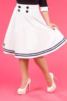 Mollys-May - Sailor skirt-ahoy