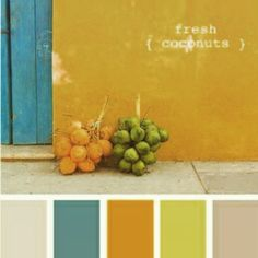 modern Spanish palette