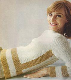 Pull femme facile au point mousse : explications tricot tutoriel