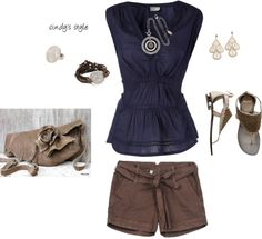 comfy casual, created by cphillips312 on Polyvore