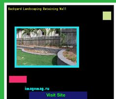 Backyard Landscaping Retaining Wall 183345 - The Best Image Search
