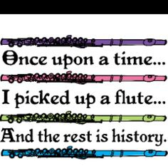 Flute=Love.....stolen from Katie Love!!!