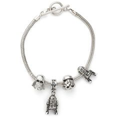 Star Wars Exclusive Charm Bead DIY Sets from ThinkGeek. I know I keep saying this but I actually hate charm bracelets though I'd make an exception for this one. :D