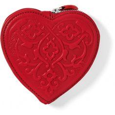 BRIGHTON Lpstick Sophia Heart Pouch