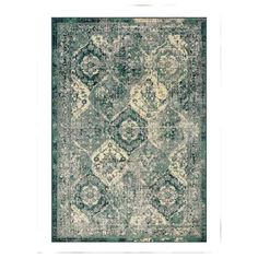 VONSBÄK Rug, low pile, green, Length: 9 ' The oriental-vintage expression has the charm of looking worn and adds a special character to the room. The pile is very low and works just as well by the sofa as under the dining table. Style Oriental, Oriental Rugs, Wet Spot, Medium Rugs, Professional Carpet Cleaning, Oriental Pattern, Types Of Flooring, Underfloor Heating, Traditional Furniture