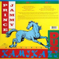 Prince Jammy - Kamikazi Dub (back cover)
