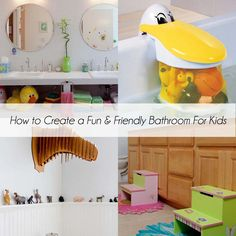 How to create a fun and friendly bathroom for kids - Design Dazzle