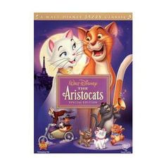 Aristocats (i used to LOVE this movie when i was a child)
