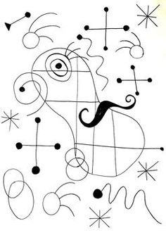 Use this roll and draw sheet, for a fun and engaging way to introduce students to the artist Joan Miro. Students will create a surrealistic skyscape in the style of Joan Miro. Miro Artist, Line Art Lesson, Arte Elemental, 2nd Grade Art, Spanish Art, Art Worksheets, Ecole Art, Famous Art, Art Plastique