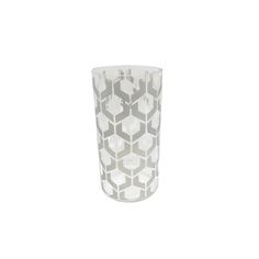 BIDKhome Glass Stella Vase Smoke Small | Fab