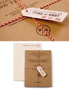 Blog post with some amazing wedding invitations @Bethany Schafer - this made me think of you! :-)