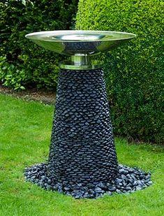 Moderner Wasserspiel Brunnen