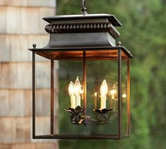 Bolton Lantern | Pottery Barn · Outdoor LanternOutdoor LightingIndoor ...