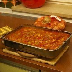 Für alle die den klassischen Schaschlikgeschmack lieben aber das aufspießen als lästig empfinden; das Gericht läßt sich sehr gut vorbereiten