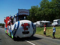 Tour de France - Caravane PUB  La Vache qui rit