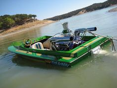 Eliminator Sprint Jet Boat, we had a similiar boat in orange when I was growing up :)