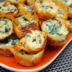 Spanakopita Bites | foodvee
