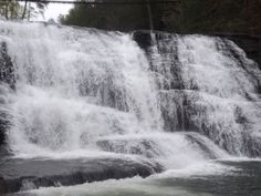 Falls Creek Falls, TN  This is the middle falls.