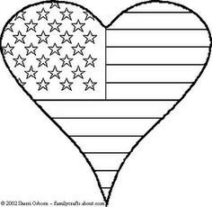 Printable Coloring Pages Peace Hearts | ... day patriotic independance coloring book page print and color picture