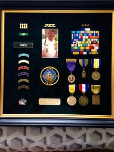 JROTC shadow box