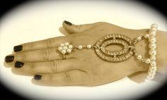 Great Gatsby inspired cuff bracelet by JNPVintageJewelry on Etsy, $175.00