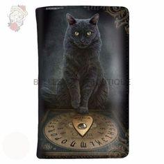 Nemesis Now His Masters Voice Cat Purse By Lisa Parker Anne Stokes, Ouija, Lisa Parker, His Masters Voice, Cat Purse, Vintage Nautical, Cat Sitting, Cool Artwork, Amazing Artwork