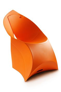Foldable Flux Chair. via The Cools