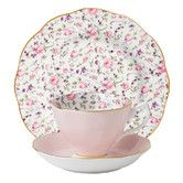 Found it at Wayfair Australia - Rose Confetti Teacup / Saucer / Plate Set