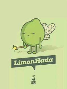Hada, cuento de hadas, limón, comida