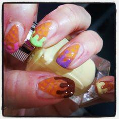 Helados nail art!!