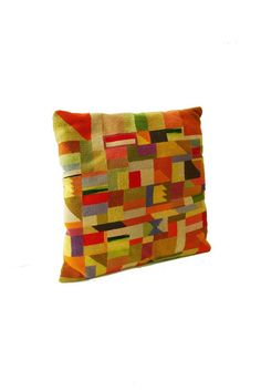 """did i really name this category """"pillow talk?""""  yeah, i did.  (ouch.) anyway, i love this needle point pillow."""