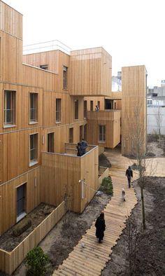 틈새주택뉴스 - Paris. France KOZ architecture 프랑스 파리의 도시재생사례