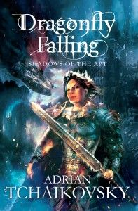 Illustrator Alan Brooks and designer Neil Lang have done a fabulous job of reissuing the whole of Adrian Tchaikovsky's Shadows of the Apt series, and the new look is ready for unveiling.