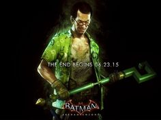 "Edward Nigma, or the Riddler. From Rocksteady's upcoming ""Batman: Arkham Knight. Batman Arkham Knight Characters, Batman Arkham Night, Batman Arkham Knight Wallpaper, Batman Arkham Series, The Riddler, Batman Games, Im Batman, Batman Stuff, Comic Book Characters"