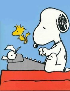 """Snoopy Typing Clip Art Click the link """"thesfm.com"""" under the pin to know if the next few minutes contain the information you need to change your life."""