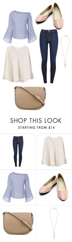 """entrevista light"" by renata01 on Polyvore featuring moda, 7 For All Mankind, MANGO, CÉLINE e Cole Haan"