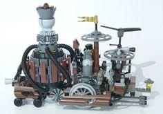 Lego Steampunk Creation 1
