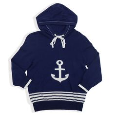 Sperry Top-Sider Womens Anchors Away Hoodie