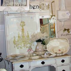 White.....love the chandy pic!