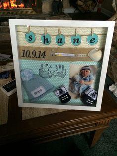 #babyboy #shadowbox #anencephaly #awareness #cute #remembermebox #inlovingmemory #crafts