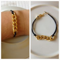 Toro -- Easy to make -- Personalize  chain   braclet - simple design - new collection. $5.00, via Etsy.