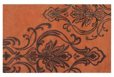 One Kings Lane - Candice Olson Rugs - Cronus (or Suria) Rug, Adobe/Cocoa/Caviar - $99 - 1199