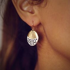 PRESERVE.us - H Levine Round Earrings