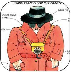 Black Hat Spy, hiding messages since 1975  www.usborne.com/spycraft  #spycraft