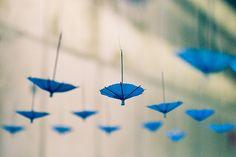 Hang little umbrellas.