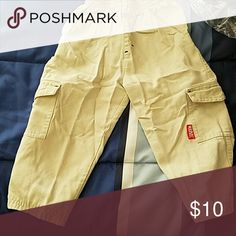 Marvel khaki cargo pants size 24m Marvel brand cargo pants Marvel Bottoms Casual