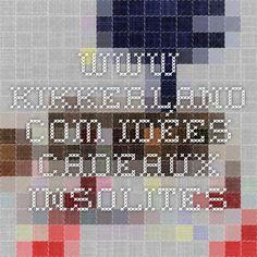 www.kikkerland.com   idées cadeaux insolites