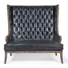 Redefine contemporary style with the Tufted Settee from Regina Andrew Design. With an artist's eye, their assortment skillfully mixes modern with rustic, elegant with casual, romantic with relaxed. They have an eclectic vision that resonates with natural style.
