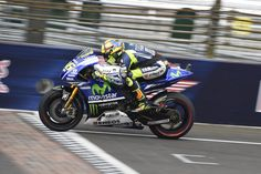 Valentino Rossi Race Action Shot